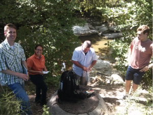 DIY Diagnostics Stream and EHS collaborating to protect Waller Creek.
